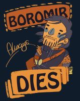 Boromir Always Dies by knightJJ