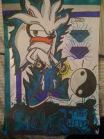 Silver The hedgehog - 4 by Fox-On-Fire