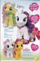 Build-A-Bear Ad feat. Rarity, S. Belle, and Scoots by Closer-To-The-Sun