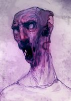 Speed paint pink zombie 20 min by torvenius