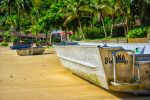 Boat at Sand 3 by ewertonlima
