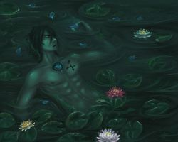 Ulquiorra - From Green to Blue by Aen-Riv