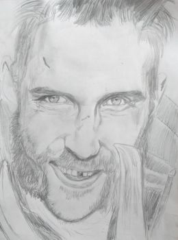 Boomerang (Jai Courtney) Drawing by AlexLio42