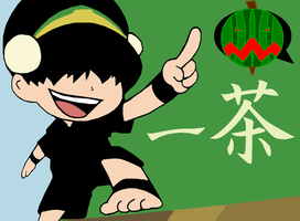 Chibi Toph The Melon Lord by SUNMAN107