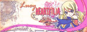 Lucy Heartfilia [Title page Facebook] by Irenechii