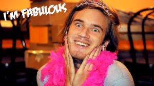 Oh Pewds You Make Me Smile by MadiTheWolf