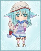 ~Adopt 03: Winter Girl [CLOSED] by Pixie-adops