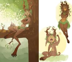 Woodland Imp Design by Chopstuff