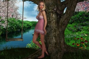 Alisee summer feeling by SissyB by Sissy-Baby