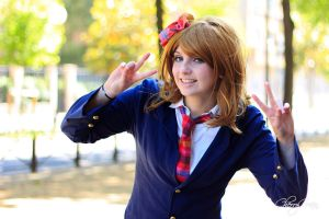school girl / school idol by MidoriRequired