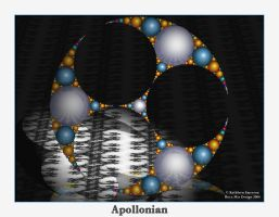 Apollonian Fractal by rocamiadesign