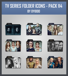 TV Series Folder Icons - Pack 114 by DYIDDO