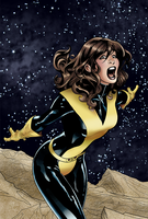 Kitty Pryde Colors - Uncanny X-Men #537 by saraafena