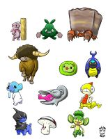 Isshu Pokemon Doodles_2 by natas-666