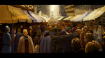 Environment study 04 - Town market by woutart