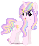 Sun kiss official debut by SugarMoonPonyArtist