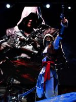 Edward Kenway Cosplay On the Main Stage in Lucca by LeonChiroCosplayArt