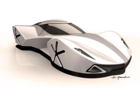 Pininfarina Enlil Front by Wesker250