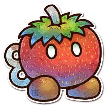 Strawberry Bob-omb by Louivi