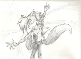 Sketch Paper Test: Freedom by Hyperchaotix