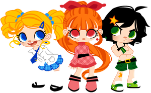 Powerpuff Girls by Sprits