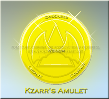 Kzarr's Amulet - Improved by Mike-Dragon