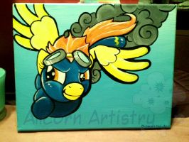 Spitfire Painting by GhostlyMuse