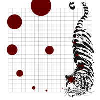 Tiger Kickstarter Mat by ElysianImagery