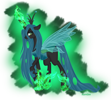 Queen Chrysalis by mlpAzureGlow