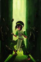 Toph by Unknowncake
