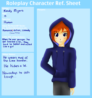 Group Reference Sheet: Randy Myers by RosaPeach