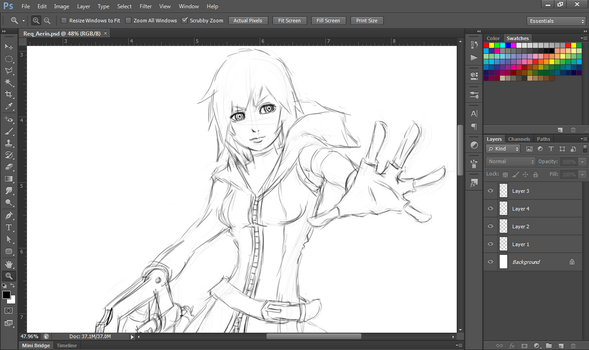 [W.I.P.] Aerin by WingBlade48