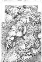 Wolverine vs Sabretooth pg03 by Alissonart