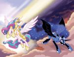 My Little Pony #4 Larry's/Jetpack Variants by TonyFleecs