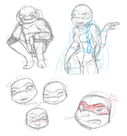 Raph-n-Venus Doodles by artistic-blossom