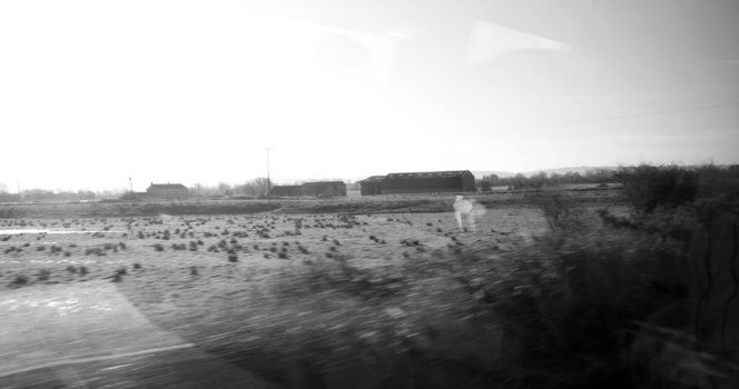 On a Train in the West by aquifer