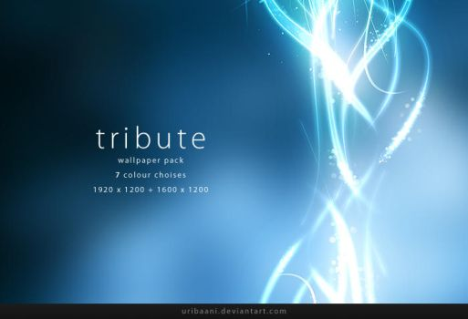 Tribute -Wallpaper pack. by Uribaani