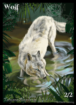 Official Green Wolf Token by SandM-Gaming