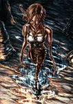 Lara Croft Walk on Reflection by cric