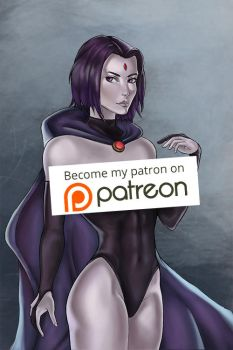 Raven Patreon by Artdevangins