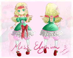 Adoptable - Mint Rose [CLOSED] by MissElysium