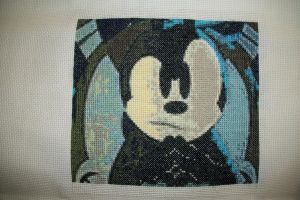 Child's Play 2012 Quilt Square: 1-Epic mickey by gamerwolff