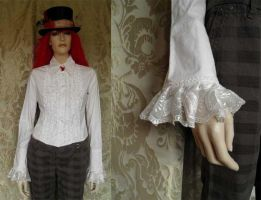 Steampunk-Mad Hatter shirt PCM10 by JanuaryGuest