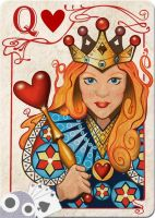 Queen of Hearts by WorldsEdge