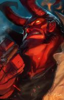 Hellboy by JimboBox
