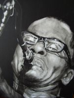 Ravi Coltrane by Geerke74