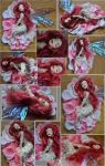 OOAK Rose Fairy - Petal by Forestina-Fotos