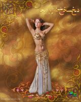 Belly dance by Ksania-ART