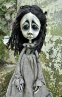 Gothic ARt Doll Wendy by VeronikaLozovaya