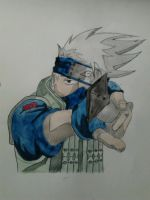 Kakashi Watercolour by RyanimationArts